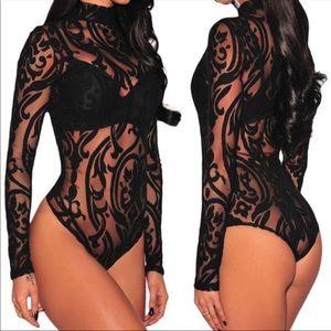 Sale Print Bodysuit / top